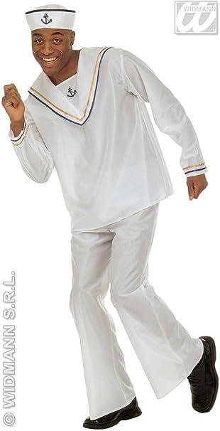 WIDMAN Disfraz de Marinero - Hombre, L: Amazon.es: Ropa y accesorios