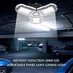 100W Deformable LED Garage Light Ceiling Light Factory Warehouse Industrial Lighting, 10000 Lumen IP65 Waterproof… 14