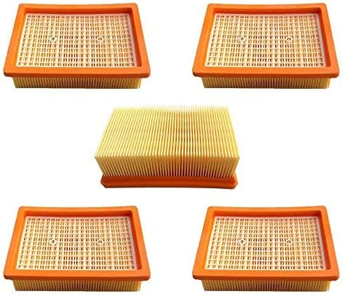 AM Filtre Pour K/ärcher MV4 MV5 MV6 WD4 WD5 WD6 Accessoire pour Aspirateur Remplace 2.863-005.0