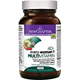 New Chapter Every Woman II 40+, Women's Multivitamin Fermented with Probiotics + B Vitamins + Vitamin D3 + Organic Non-GMO Ingredients - 96 ct