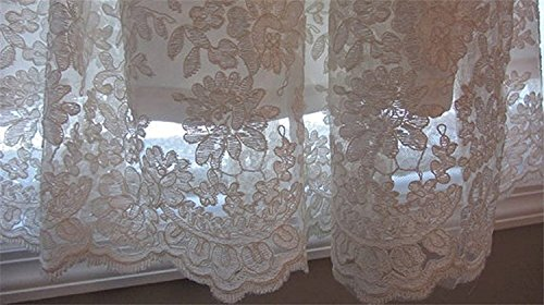 Banfvting Baby-girls Lace Beads Infant Toddler White Christening Gowns Long by Banfvting (Image #5)