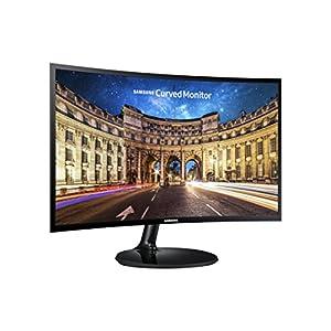 Samsung IT LC24F390FHNXZA 24-Inch Curved Monitor (Super Slim Design)