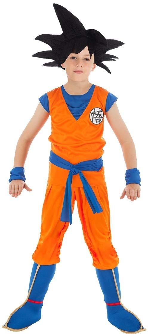 Chaks C4369116 Kostüm Goku, 116 4-6 cm, 4-6 116 Jahre, Orange f0afca