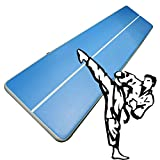 Phoneix Air Gymnastics Tumbling Mat Inflatable Air Floor Track Floating Boat for Home Use, Cheerleading, Beach, Park and Water