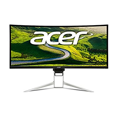 Acer XR382CQK 38 IPS Curved Gaming Monitor, UW-QHD 21:9 3840 x 1600, 75 Hz 5ms,