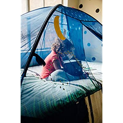 Pacific Play Tents Glow in The Dark Firefly Bed Tent: Toys & Games