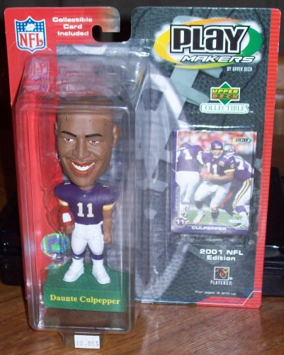 Upper Deck~ Minnesota Vikings Daunte Culpepper Bobbing Bobble Head Doll by Upper Deck