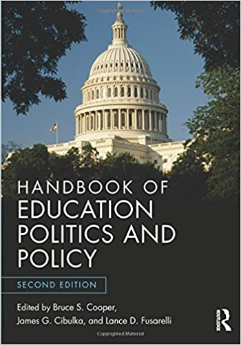 Book Handbook of Education Politics and Policy