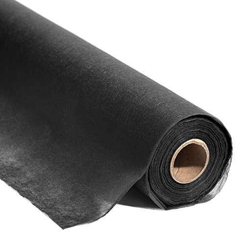 Black Flame Retardant Gossamer Decorating Fabric, 19' x 50 yard roll