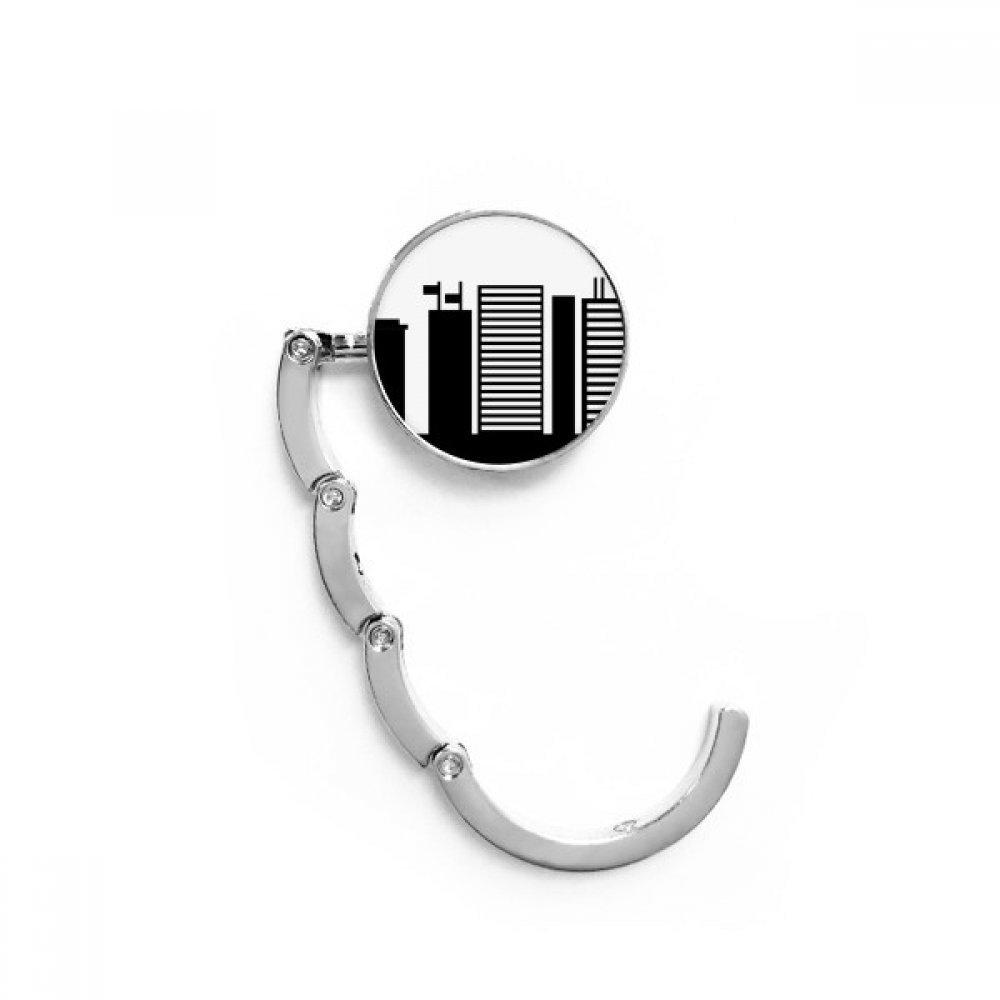Australia Landmark Sydney Opera House Silhouette Table Hook Folding Bag Desk Hanger Foldable Holder