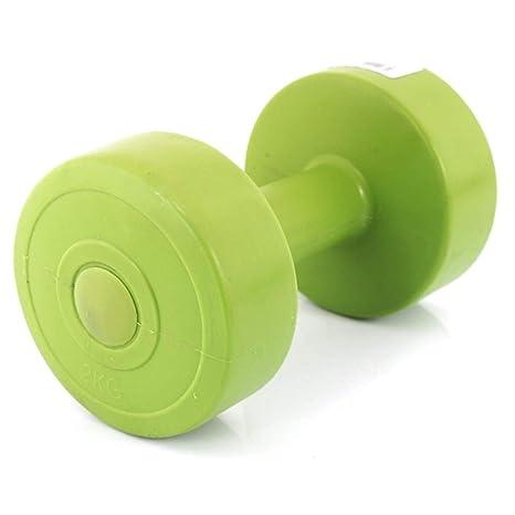 Plástico Pesas Juego de 2 mancuernas de pieza Aerobic mancuernas mancuernas 2 x 1.5 kg