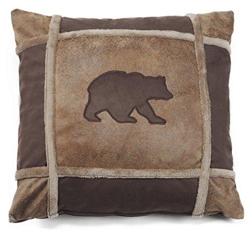 Carstens Bear Grid Pillow