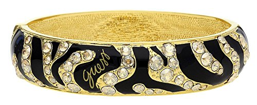 - Guess Women Bangle alloy gold/black Wild at Heart UBB70233