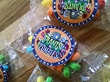 12 PLANTS VS ZOMBIES candy bracelets for birthday party favors