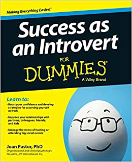 Image result for Success as an Introvert for Dummies