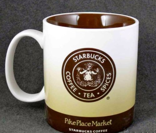 Starbucks Coffee Mug From Starbucks First Store in the Pike Place Market in Seattle