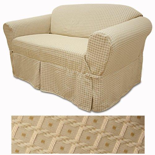 Half Slipcover (Basket Wheat Furniture Slipcover Chair 588)