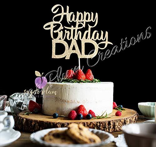 Happy Birthday DAD Cake Topper ()