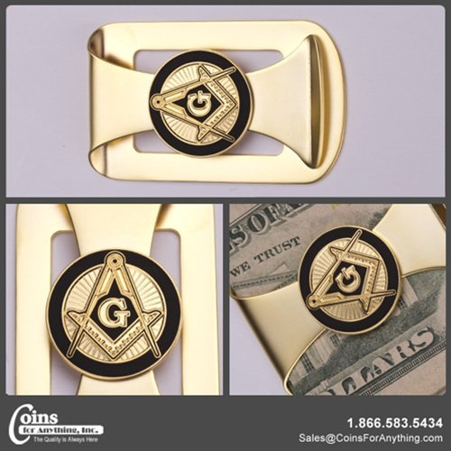 Freemason Money Clip