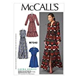 MCCALLS M7242 MISSES DRESSES (SIZE 14-22) SEWING PATTERN