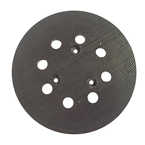 Superior Pads and Abrasives RSP27 5 inch Diameter 8 Hole Sander Hook and Loop Pad Replaces Makita Part Number 743081-8, 743051-7 and Hitachi Part Number 324-209 (Abrasives Inch Accessories Sanders 5)