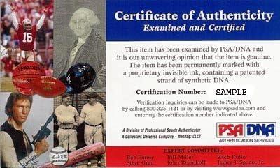 Walter Payton Autographed 8x10 Photo Chicago BearsSweetness PSA//DNA Stock #76028