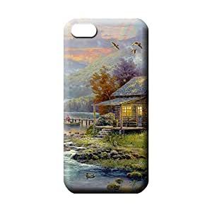 iphone 5 5s phone cases covers Specially Shock-dirt New Snap-on case cover thomas kinkade nature's paradise
