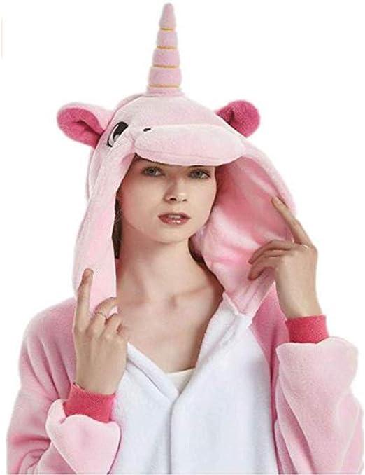 JXUFUFOO Pijama Unicornio Disfraz Adulto Unisex: Amazon.es: Ropa y ...