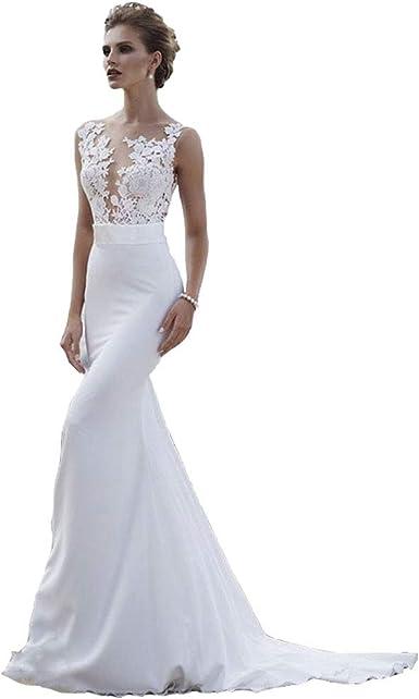 Seasail Beach Wedding Dresses 9 Boho Mermaid Wedding Gown Scoop