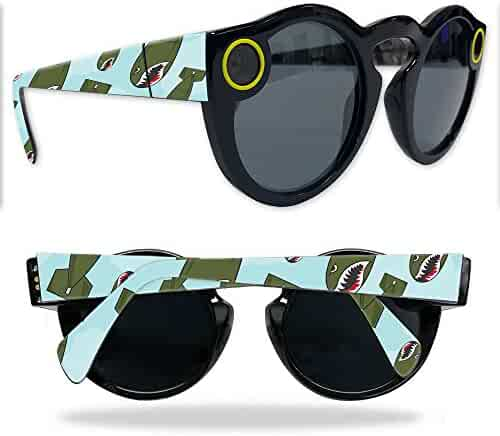 MightySkins Skin Compatible with Snapchat Snapchat Spectacles - Bombs Away | Protective, Durable, and Unique Vinyl Decal wrap Cover | Easy to Apply, Remove, and Change Styles | Made in The USA