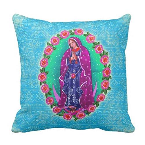 Virgen de Guadalupe manta funda de almohada: Amazon.es: Hogar