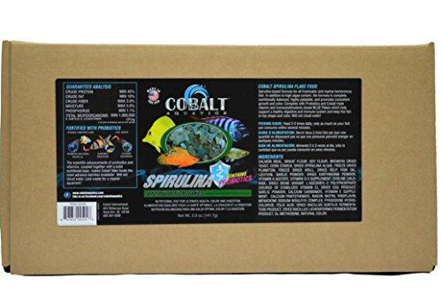 Cobalt Aquatics Spirulina Flake, 10 lb by Cobalt Aquatics
