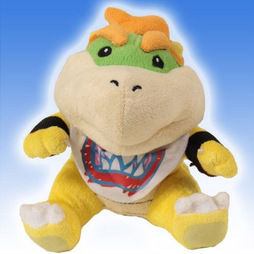 super mario bowser jr plush - 8