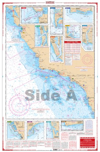 Waterproof Charts, Standard Navigation, 54 San Francisco to Mexico -