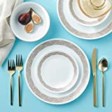Corelle Service for 6, Chip Resistant, Sand