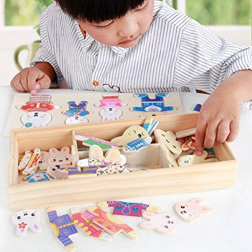 bear family dress up puzzle - 6