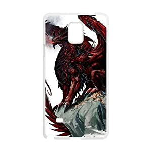 Ancient Dragon Samsung Galaxy Note 4 Cell Phone Case White persent xxy002_6031486