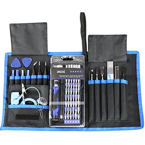 80 in 1 Precision Screwdriver Set with Magnetic Driver Kit, Professional Electronics Repair Tool Kit with Portable Oxford Bag for Repair Cell Phone, iPhone, iPad, Watch, Tablet, PC, MacBook and More