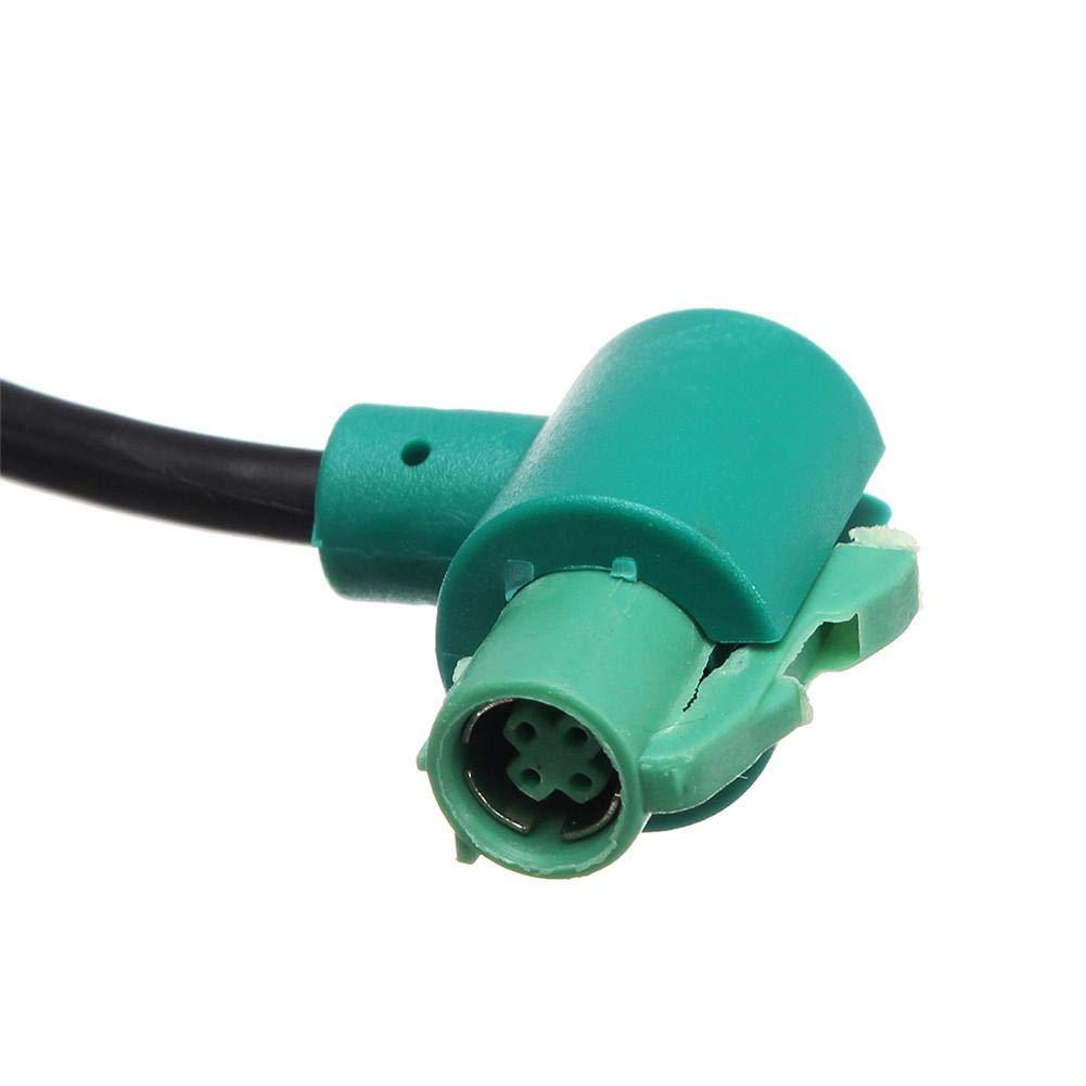 F/ür BMW E60 E61 E63 E64 E87 E90 E70 F25 Changer Car Button Switch Stereo Audio Kabelbaum AUX IN Kit Auto AUX USB Buchsenschalter