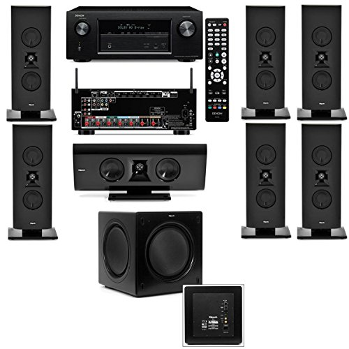 Klipsch Gallery G-16 7.1 Home Theater System-SW-310-Denon AVR-X2100W 7.2Channel