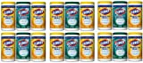 ZAQWG Disinfecting Wipes Value Pack, Bleach Free Cleaning Wipes - 75 Count Each (Pack of 18)