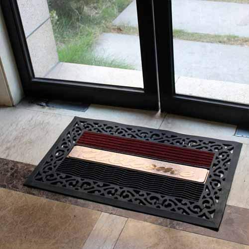 Alfombras de Goma Piso baño Puerta de Entrada Hall de Entrada ...