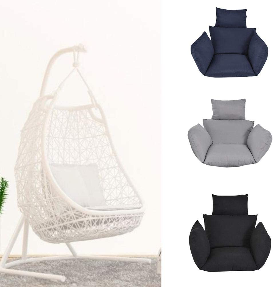 Sedia Non Inclusa awhao Cuscino per Sedia Amaca Cuscini per Seduta con Schienale a Battente e Cuscino per Cuscino Rimovibile e Lavabile Newcomer