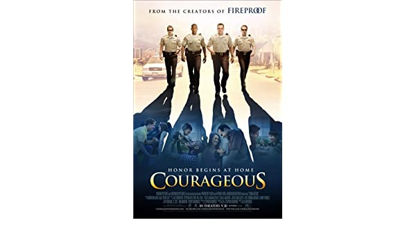 Courageous Movie Poster 24x36in #01