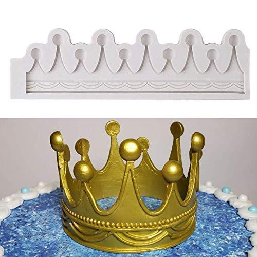 Best fondant crown mold cake topper