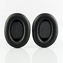 Replacement ear cushions for Bose Around-Ear 2 (AE2), Around-Ear 2 wireless (AE2w), SoundTrue Around-Ear (AE), SoundTrue Around-Ear 2 (AE2) and SoundLink Around-Ear 1 and 2 headphones (Black) (Not compatible with Bose Around-Ear (AE) or Triport 1 (TP1/TP1A) headphones)