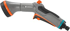 Gardena Comfort Cleaning Sprayer: Garden Sprayer for Optimal Cleaning and Watering, Two Spray Patterns, Water Quantity can be Regulated, Frost Protection (18323-20)