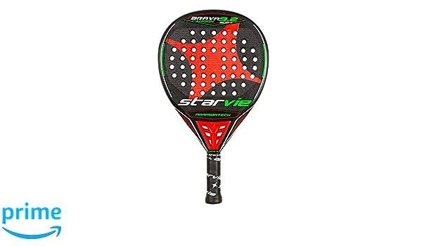 StarVie Brava 9.2 DRS Soft Pala de pádel, Unisex Adulto, Rojo-Naranja, 360 Gramos: Amazon.es: Deportes y aire libre