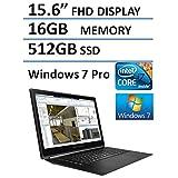 "HP Omen Pro Workstation 15.6"" Full HD Touchscreen Laptop (Intel Quad Core i7 up to 3.7GHz Processor), 16GB DDR3 RAM, 512GB SSD, NVIDIA, HDMI, RJ45, WIFI, USB 3.0, Bluetooth, Windows 7 Professional"