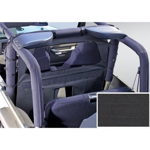 Rugged Ridge 13552.35 Diamond Black Roll Bar Curtain